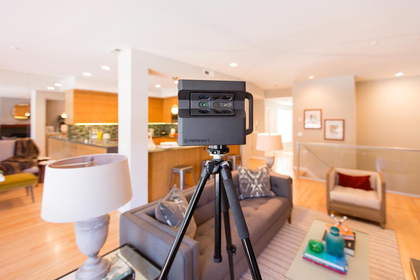 A Matterport camera