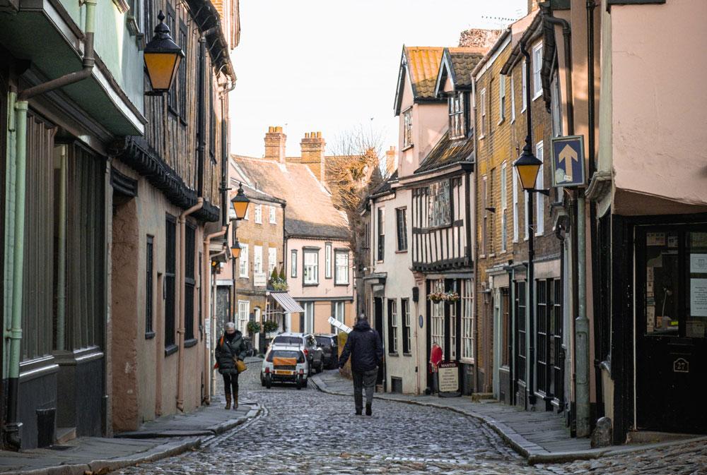Norwich cobbles